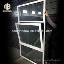 white thermal break aluminum frame fixed glass windows