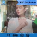 Propaganda de mídia de propaganda de Jinghui 410g Publicidade Digital Prinatinag luz PVC flex banner para tinta solvente e eco solvente