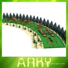 Terrain de jeux pour enfants grand escalade en bois à vendre