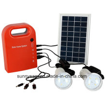 Mini Portable Solar Lighting System for Indoor or Home Lighting