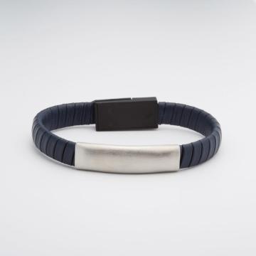 Fashion Steel Bracelet Kundenspezifische magnetische geflochtene Armbänder