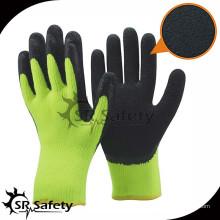 SRSAFETY 7G Акриловая подгузник Трикотажная зимняя рабочая перчатка / термальные перчатки / Зимняя перчатка безопасности