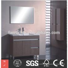 China design de casas de banho piso de estar armário de banheiro aço inoxidável