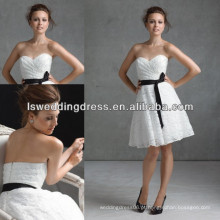 HB2023 Sweetheart sleevelss chá comprimento feito por encomenda vestidos de dama de honra china