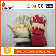 Рабочая перчатка для кожи свиней с зерном DLP711