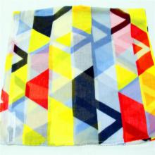 2020 multi geometric scarf fashion 100% recycled polyester snood super sfot hand feeling