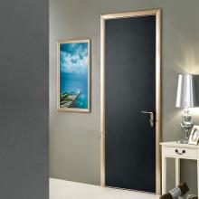 Modèles de porte en bois moderne