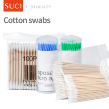 Medical Level Cosmetic Q Tips Medical Cotton Bud Cotton Swab