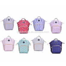 New design soft waterproof mommy bag backpack baby bag