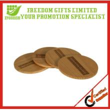 Entrega rápida Posavasos de madera de alta calidad