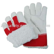 Winter Leather Working Gloves ZM714-L