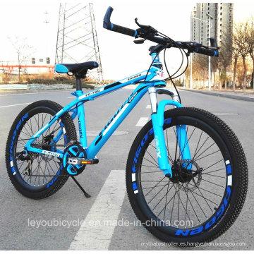 Bicicleta de montaña adaptable de alta calidad de la bicicleta MTB del precio bajo 24s