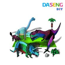 Arte divertido del arte del juego del mosaico pegajoso creativo de la diversión de los cabritos