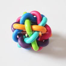 Резиновая игрушка с колокольчиками