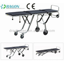 DW-TR007 aluminum alloy corpse trolley mortuary stretcher