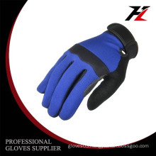 Warm and safety Micro fiber hand protection work gloves