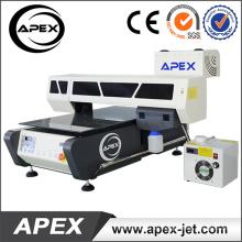 Impresora UV de cama plana digital para plástico / madera / vidrio / acrílico / metal / cerámica / cuero