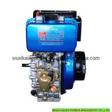 Motor a diesel de alta velocidade refrigerado a ar 5HP (KA178F)
