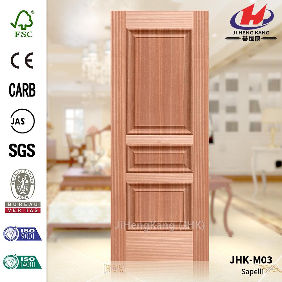 Commercial Black oak Sapele Door Panel