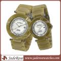 Couple Lover′s Japan Quartz Fashion Wristwatch for Wholesale