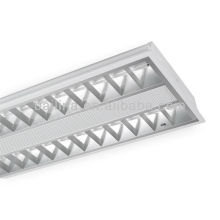 T5 office lighting fluorescent recessed grille lamps 2x28W