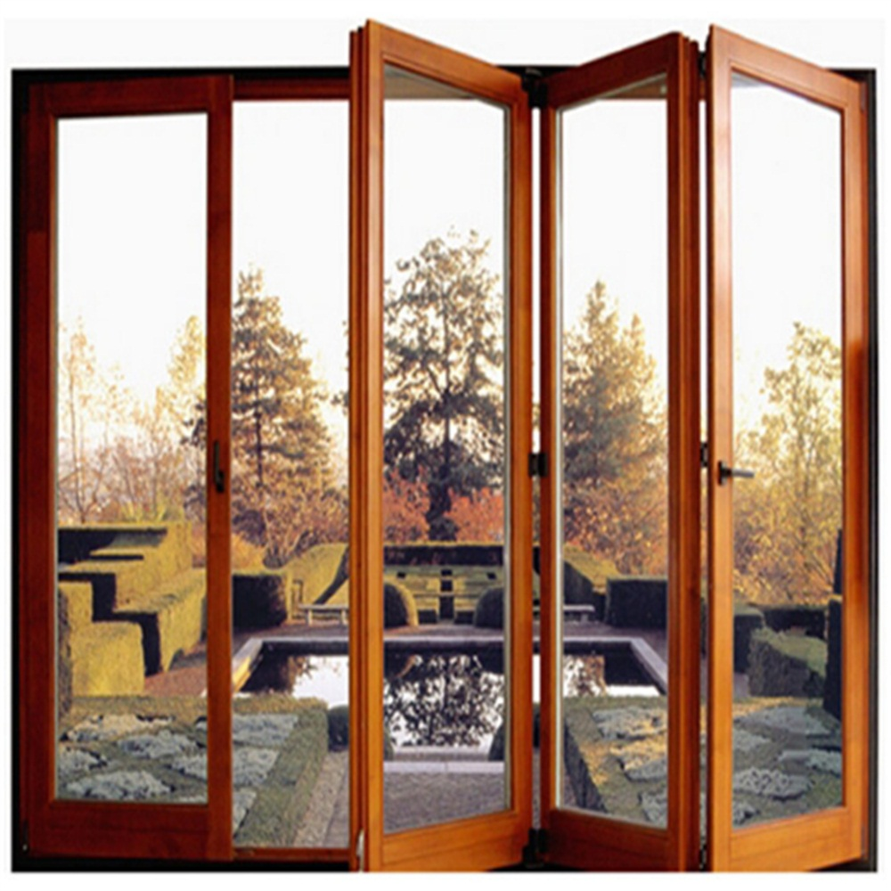 Multi Panels Aluminum Bi Folding Door