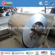 Bobina de aço galvanizada da placa de aço de grande resistência profissional da fonte S350gd + Z
