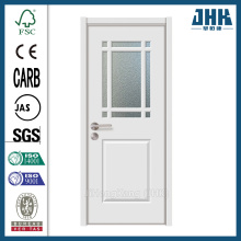 JHK Cheap Modern Single Frosted Glass Interior Door