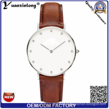 Yxl-247 Wholesale Watches Famous Brand Luxury Watch OEM Cheap Factory Custom Watch Leather Stainless Steel Back Watches for Men Women