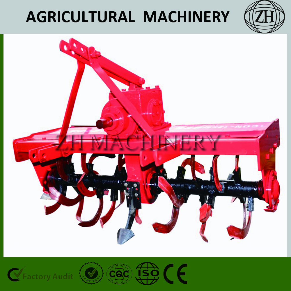 Different Types Tractor Equipment Rotary Tiller