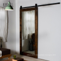 Made in china wood sliding glass barn door