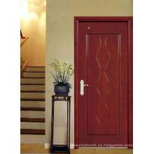 Puerta de madera del dormitorio, HDF compuesto Puertas de madera, residencial en interiores, muchos colores muchas texturas Muchos diseño ... opción sin fin