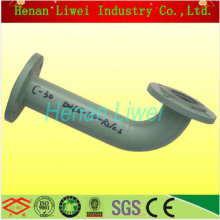 Galvanized rubber lined pipe