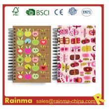 Caderno de papelaria escolar para estudante