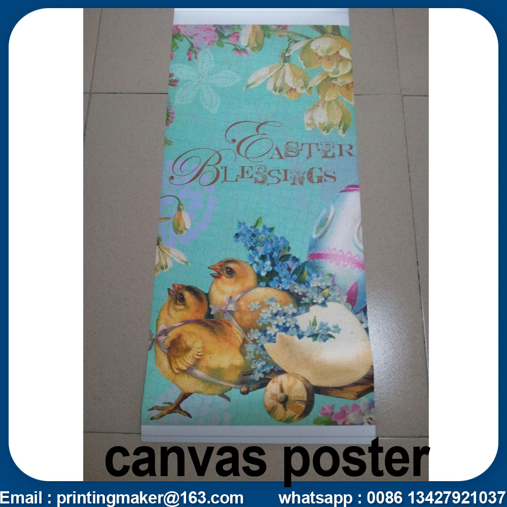 printed canvas poster