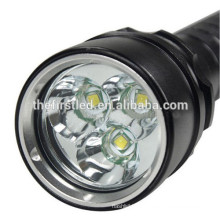 Jexree cree xml t6 led diving flashlight with 26650 battery