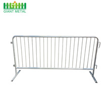 Hebei Raksasa Galvanized steel Crowd Control Barrier Fence
