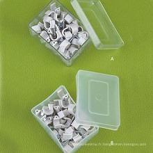Série Plb (boîte en plastique) Clips de câble