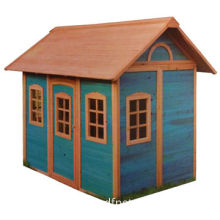 Eco-friendly Wooden Kids' Playhouse