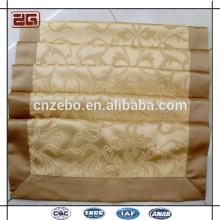 Nouveau Design Jacquard Personnalisé 100% Polyester Taille du Queen Hotel Bed Runner