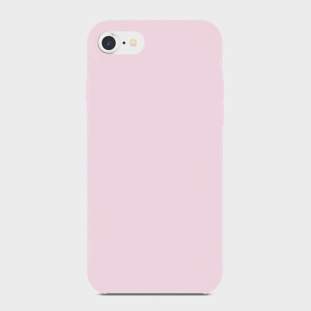 rose liquid silicone phone case