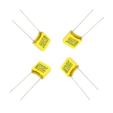 Wholesale Yellow 0.39UF 275VAC X2 Metallized Polypropylene Film Capacitor Tmcf18-2