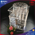 Wholesale New Item Acrylic Spinning Lipstick Makeup Tower