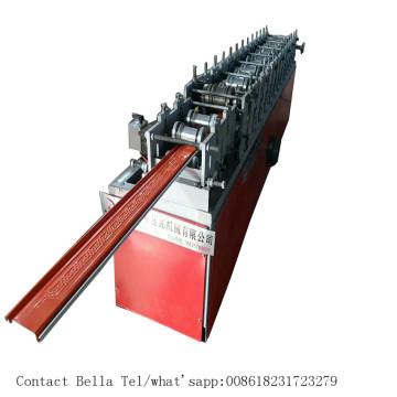 Galvanisierte Stahlverschlußtür-Rolle, die Maschine bildet