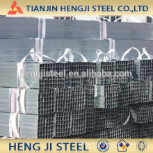 Square / Rectangle Galvanized Steel Tube Thickness 2.5mm