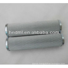 The replacement for FILTREC fiberglass hydraulic oil filter element D821G10A, Filter glue metal mesh filter cartridge