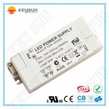 CE SAA gelisteten Produkte 20W 30W 36W 40W 50W 60W führte Fahrer 12V 24V DC für LED-Streifen