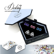 Destiny Jewellery Crystals From Swarovski Combination Earrings