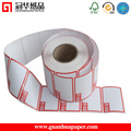 SGS Customized Size Direct Thermal Label