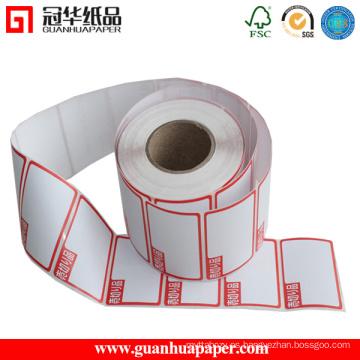 Etiquetas térmicas de impresión directa SGS